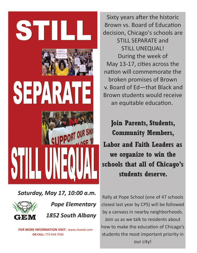 still separate still unequal