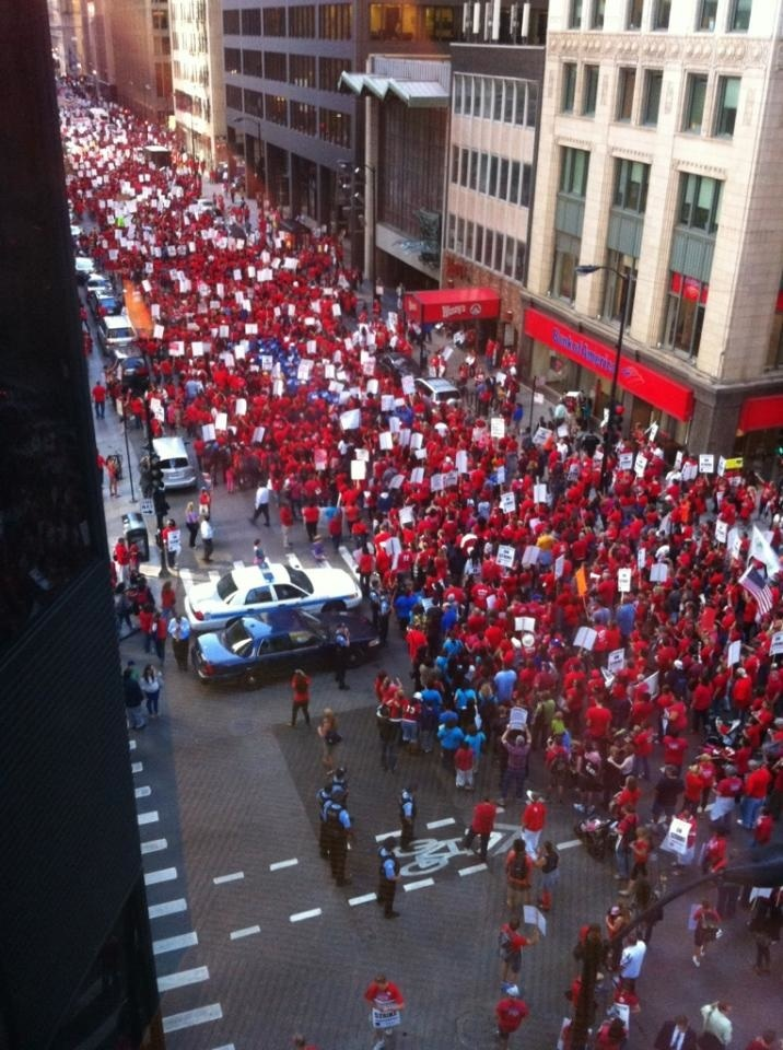 In These Times: War on Teachers: Pick a Side | Chicago Teachers Union