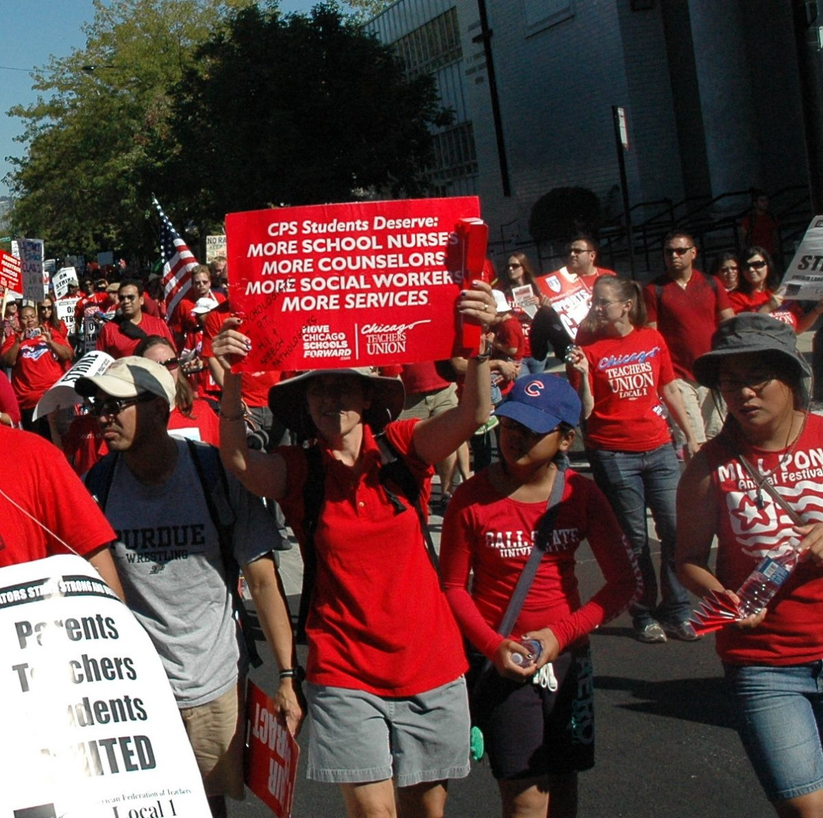 CPS Needs More Full-Time, Union, Certified School Nurses