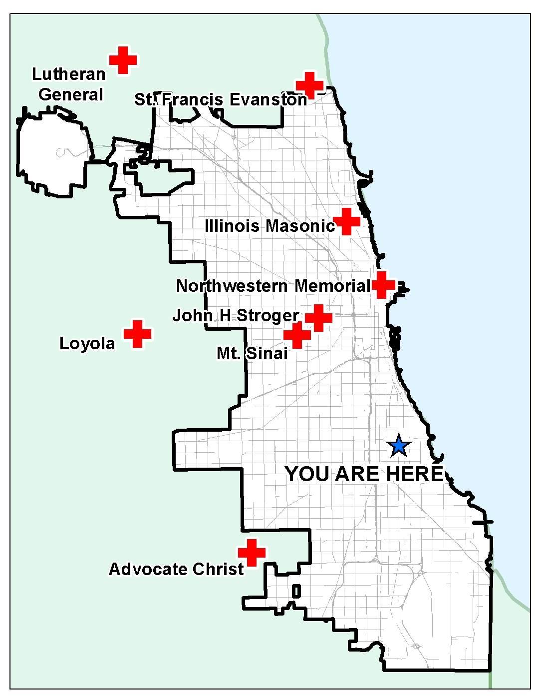 Chicago's Trauma and Lack of Trauma Centers