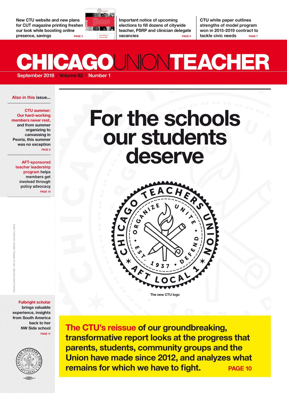 News from the Alliance of Charter Teachers and Staff