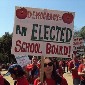Democracy = An Elected School Board!