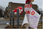 Memorial to 16 year-old Antonio Fenner, shot on Chicago's west side, 2013 (DNAinfo/QuinnFord)