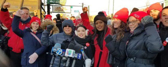 CTU educators at UNO/Acero set strike date of December 12.