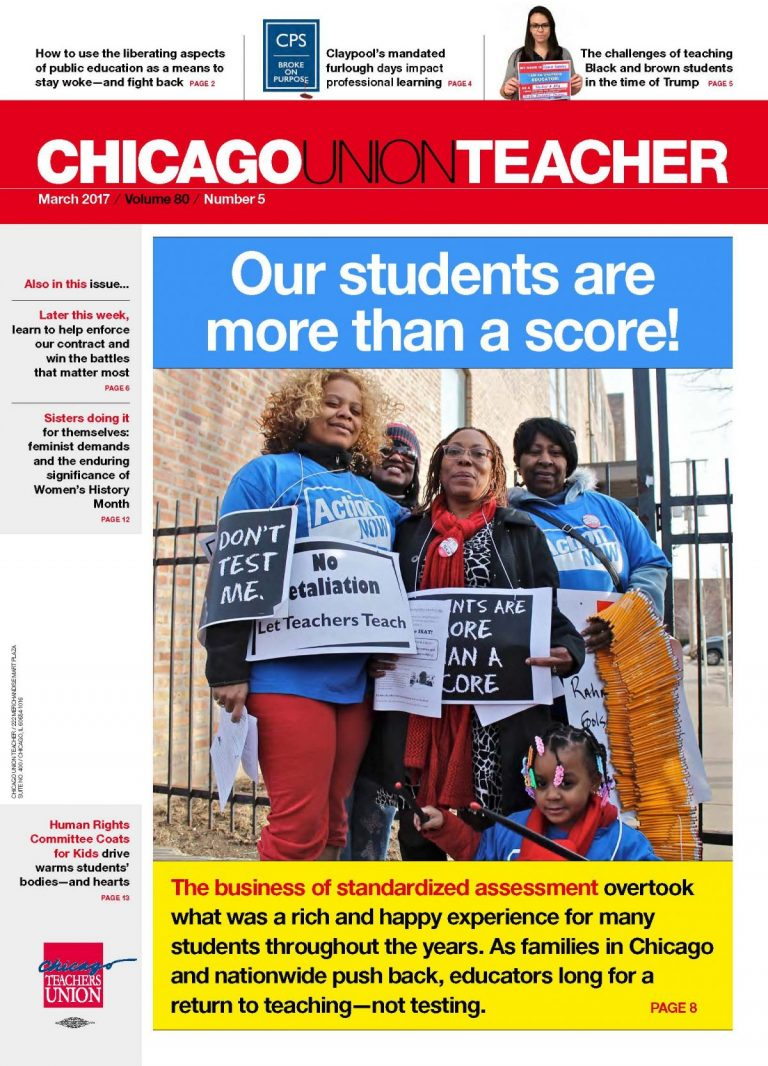 5 Steps For Liberating Public Education >> Chicago Union Teacher Chicago Teachers Union