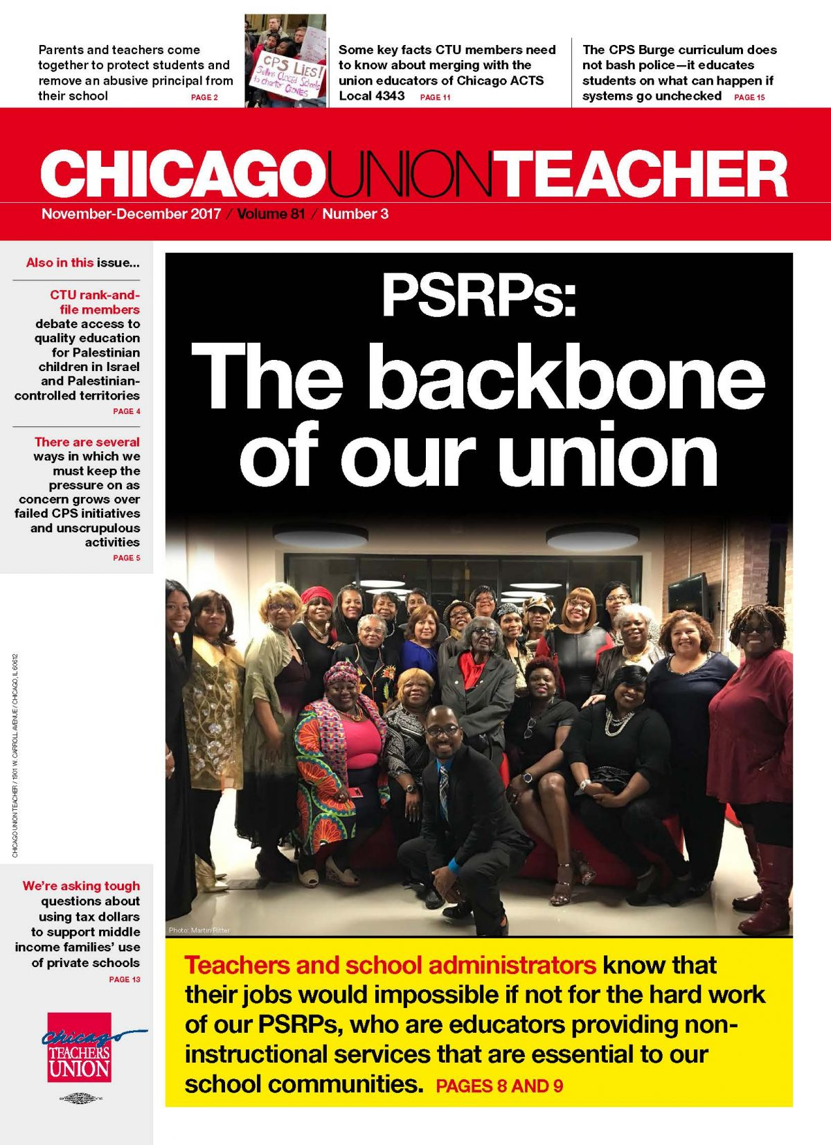 CUT Issue Pages Archive | Page 2 of 8 | Chicago Teachers Union