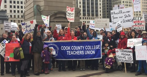 City Colleges Faculty Solidarity Rally @ Chicago Teachers Union Center | Chicago | Illinois | United States