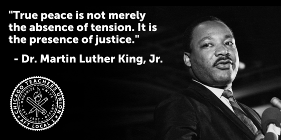 True peace is the presence of justice.