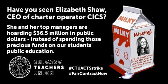 Have you seen CICS CEO Liz Shaw?