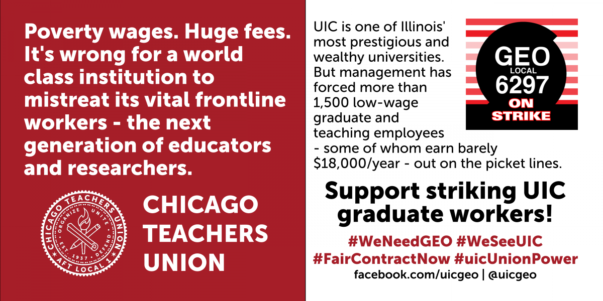 UIC, give your graduate workers a fair contract
