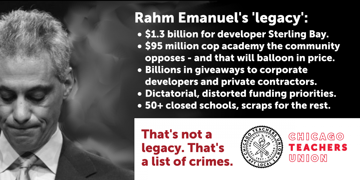 Scraps for schools comes with distorted priorities, huge handouts to wealthy developers