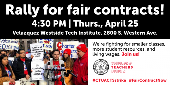 4-25-19 rally for fair contracts