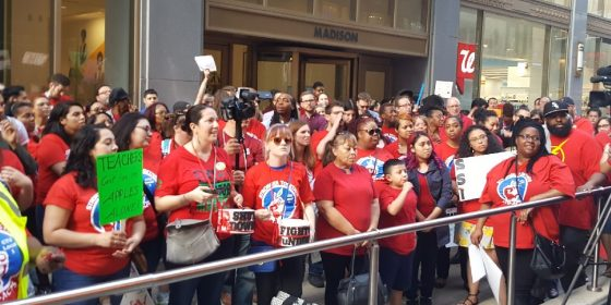 Board of Education Rally @ Board of Ed / CPS Headquarters