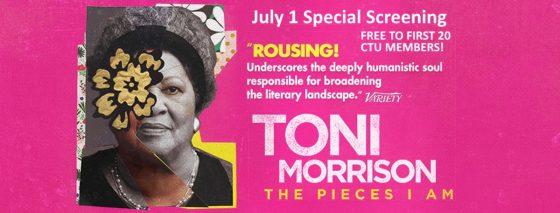 """Toni Morrison: The Pieces I Am"" Advance Screening @ Landmark Century Theatre"