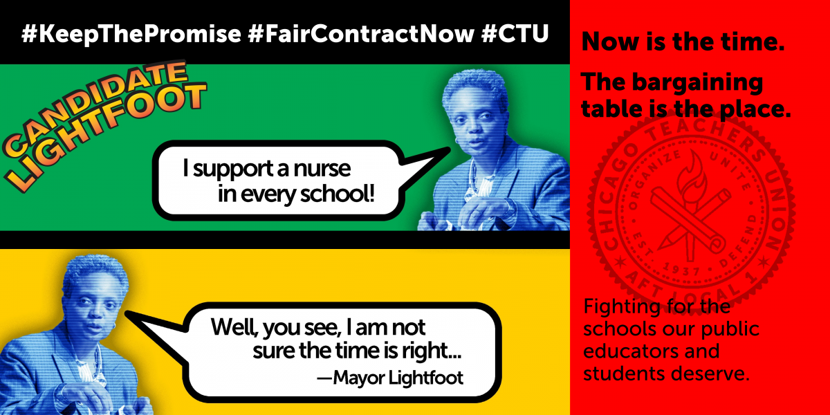 Beginning Tuesday: CTU ramps up organizing as contract fight heats up