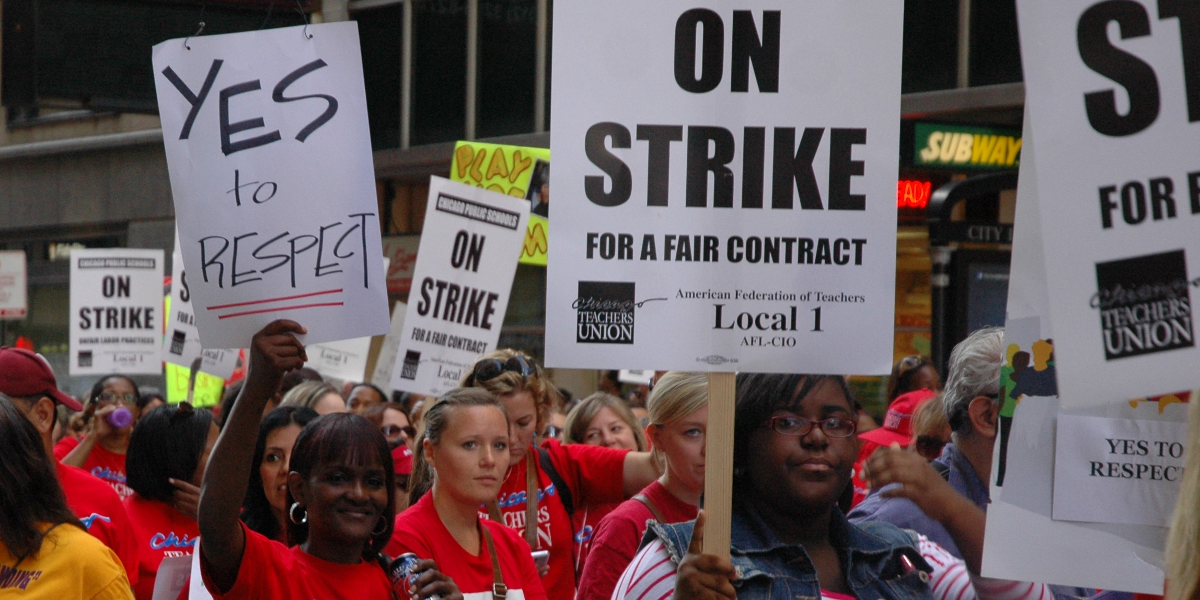Ninety-four percent of Chicago Teachers Union educators vote to authorize strike