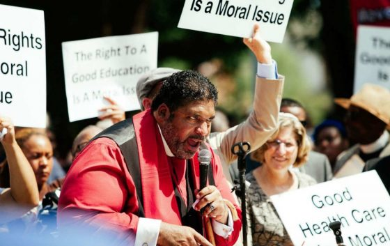 Rev. Dr. William Barber II brings a passion for justice to the struggle for equity.