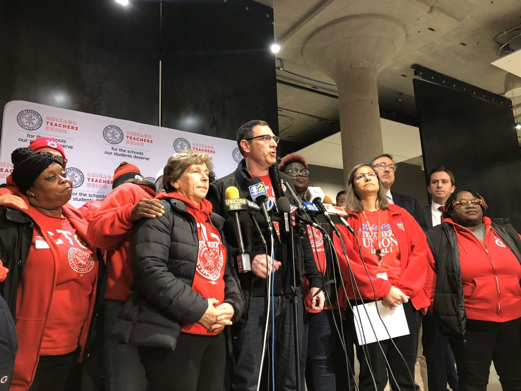 Chicago Teachers Union reaches Tentative Agreement for new contract with Chicago Public Schools