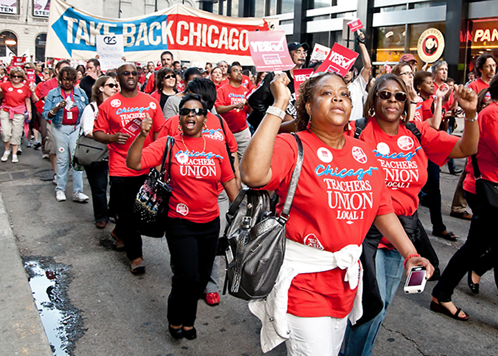 Displaced Black educators call on CPS to settle civil rights lawsuits