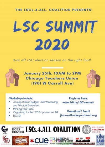 LSC Summit 2020 Flyer