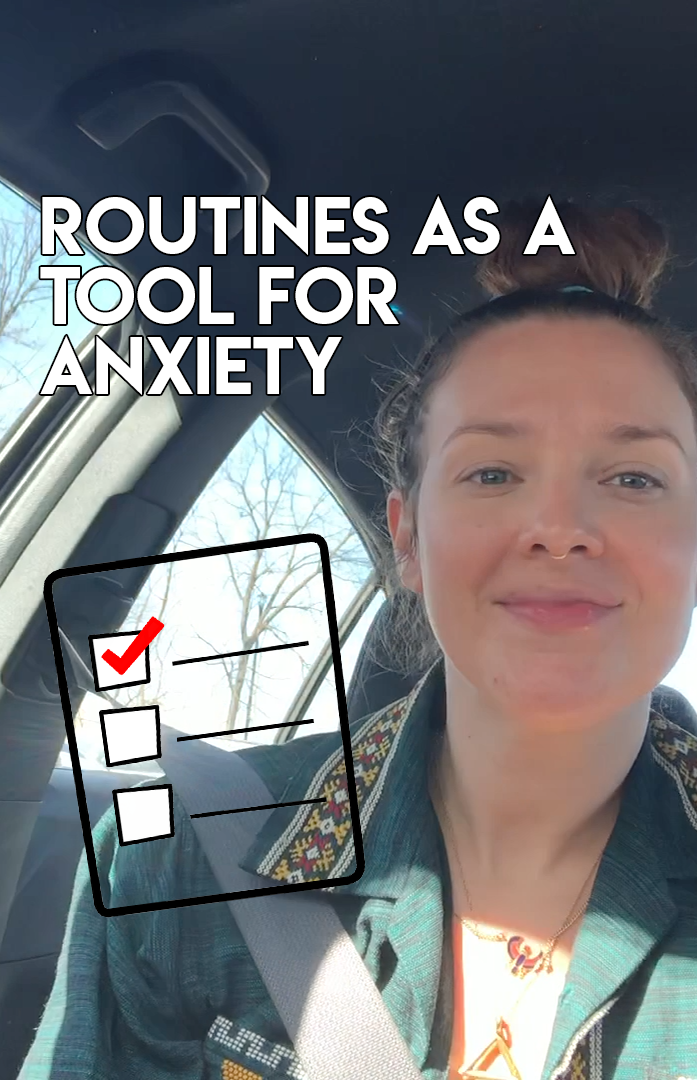 Voices of the Rank-and-File: Routines as a tool to manage anxiety
