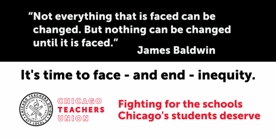 It's time to face - and end - inequity.