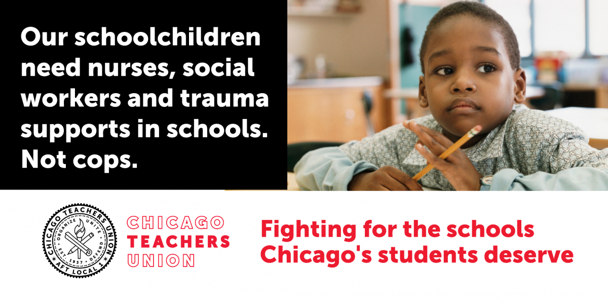 The mayor must fund social workers, counselors and restorative justice, not police in our schools