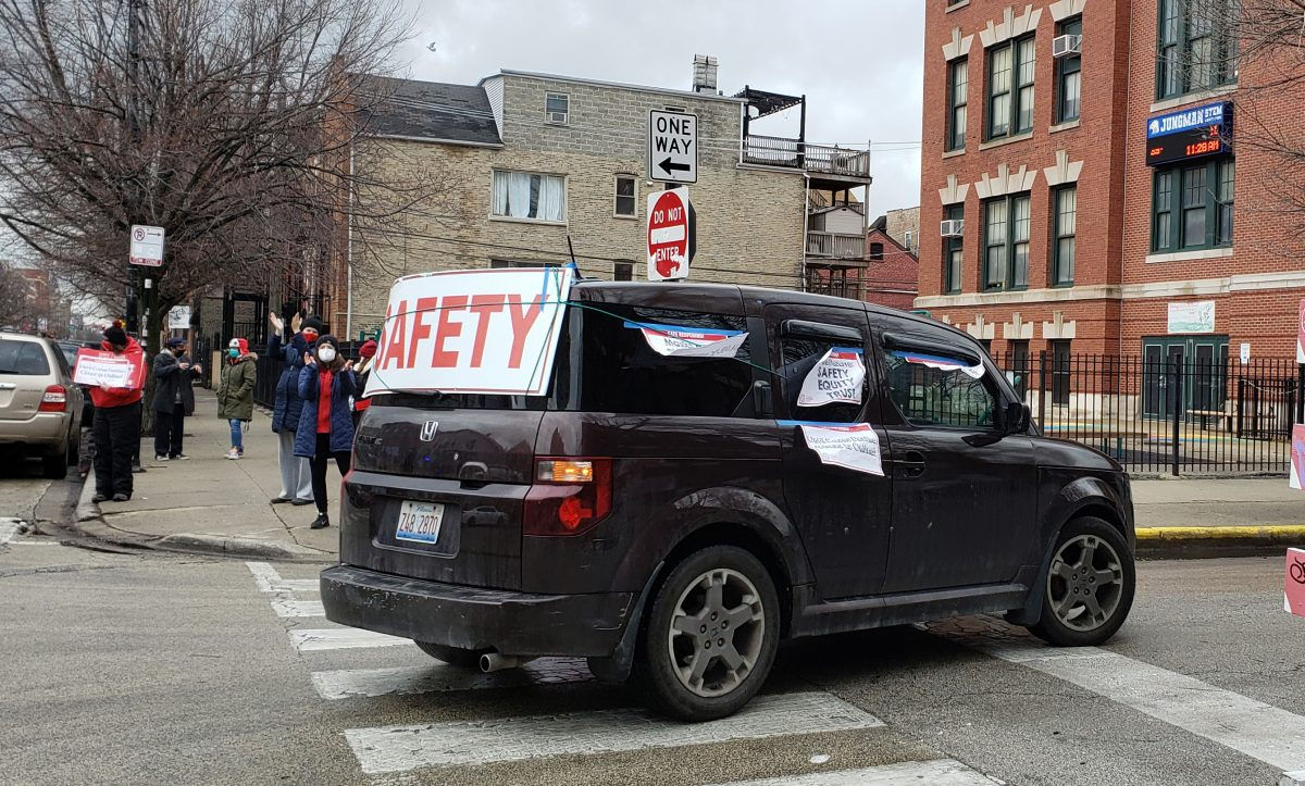 Locked out CTU educators, allies to car 'picket' in caravan for safe
