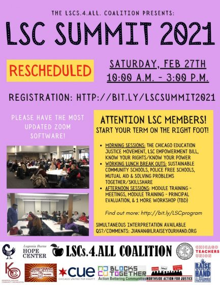 LSC Summit 2021 @ Program