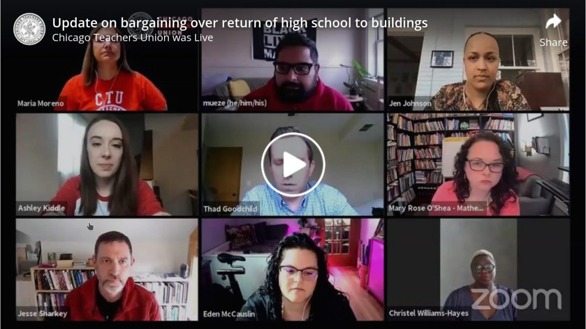 Bargaining Update on HS Reopening