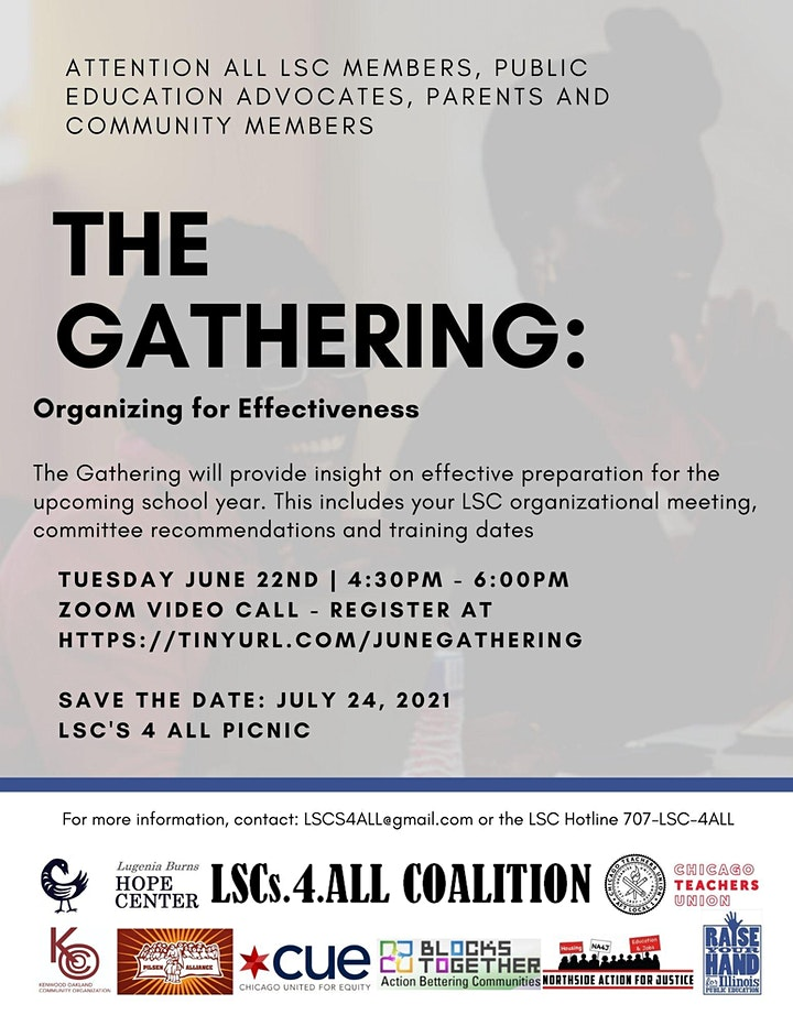 Promotional image for The Gathering, June 22